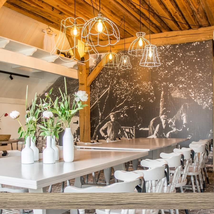 De Kleine Wildenberg - Bijzonder vergaderen vergaderlocatie in rondom Deventer Pegge huis hout